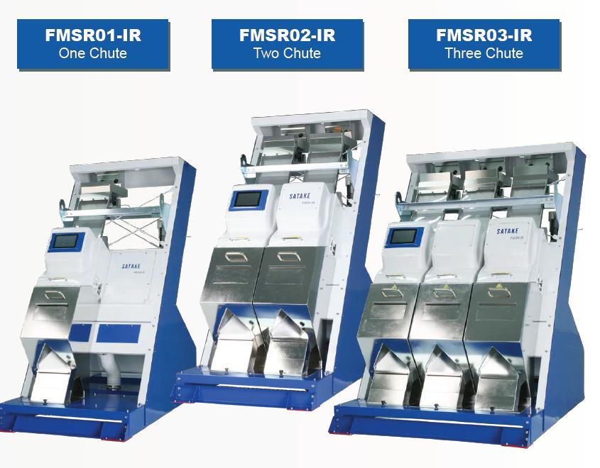 FMSR-IR Full Color RGB - Shape - Infrared Optical Sorter