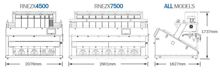 Full Color RGB Sorter Optical Sorting Machine - Satake RNEZX